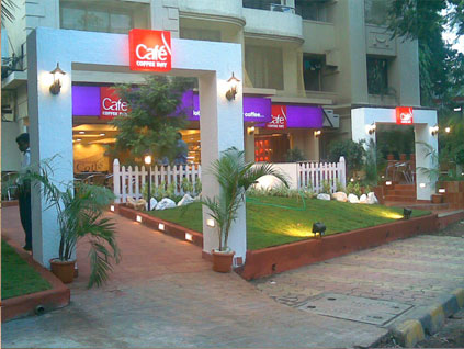 Cafe Coffee Day's Interior Design in India by InlinesDesign