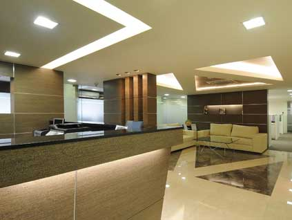Petron Office Interior Decoration