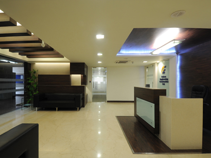 Petron - Corporate interior decoration
