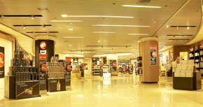 Project Of Duty Free By Commercial Interior Design Firm Inlinesdesign